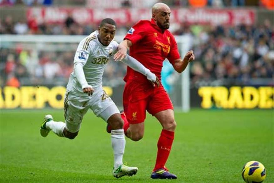 Swansea-Liverpool match ends in a stalemate