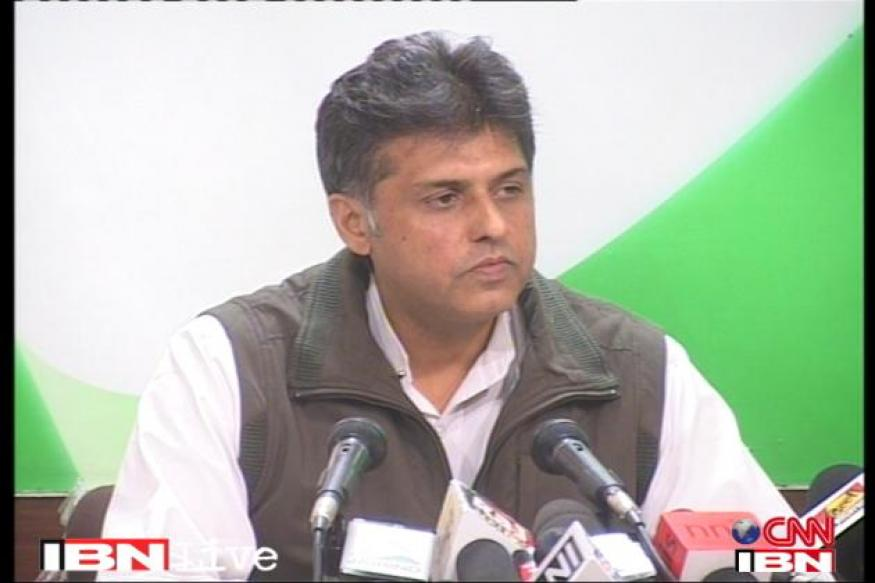 Gujarat CM shoots from the hip, says Manish Tewari
