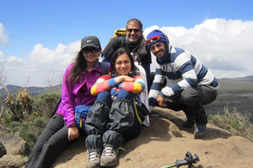 Maria Goretti climbs Mount Kilimanjaro for a cause