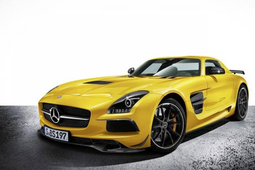 Mercedes unveils SLS AMG Black Series