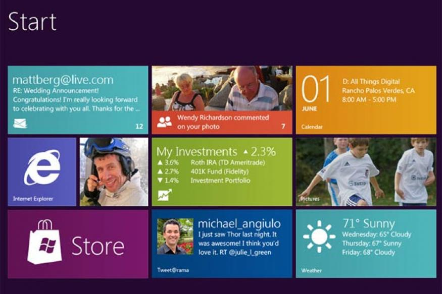 Lukewarm debut for Microsoft Windows 8, says sales tracker