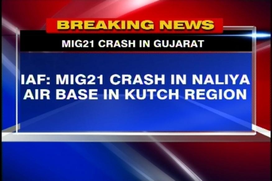 Gujarat: MiG 21 aircraft crashes in Kutch, pilot safe
