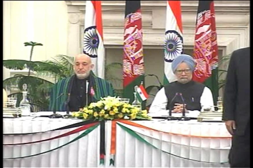 Afghanistan President meets PM, signs 4 MOUs with India
