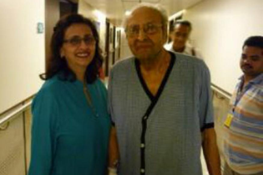 Snapshot: Pran is seen inside the hospital