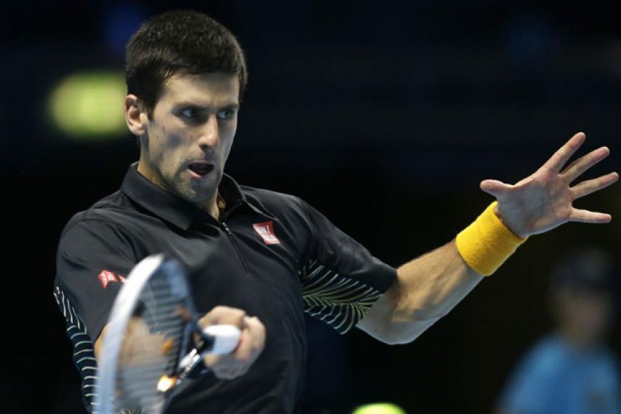 Djokovic, Murray win openers at ATP finals