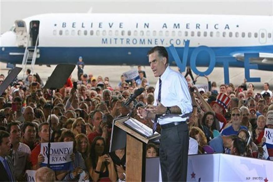 US: Romney to continue campaigning on poll day