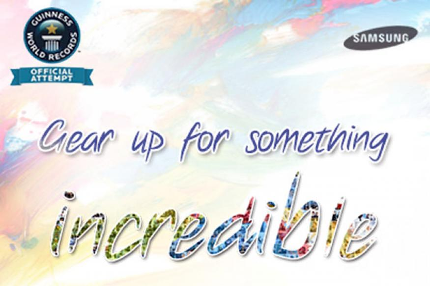 Samsung announces the 'Samsung Galaxy Note II Incredible Art Piece' initiative in India