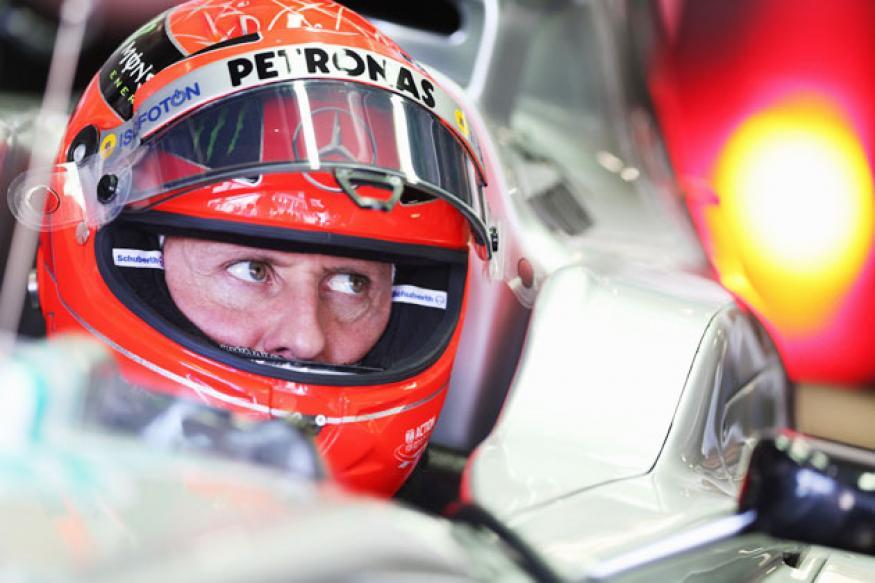 Michael Schumacher fans hail their departing hero