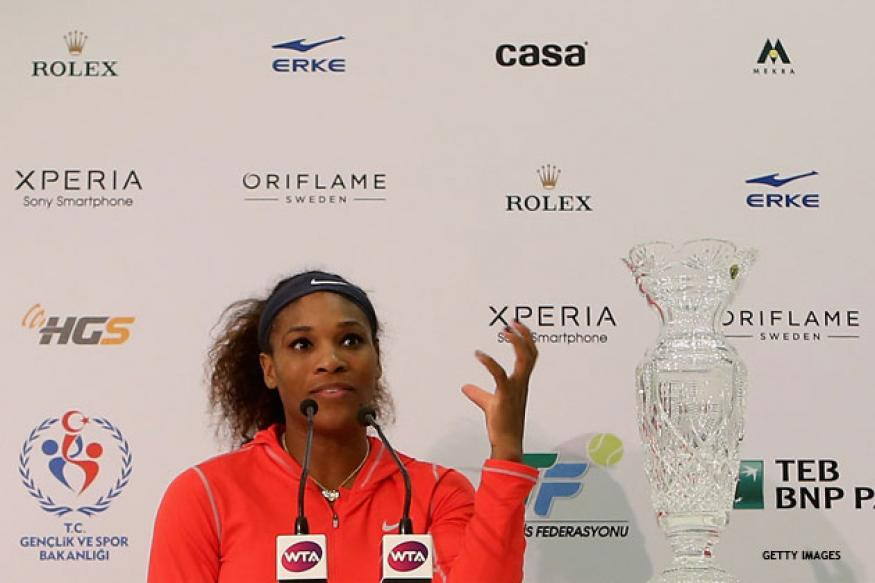 Serena Williams named WTA's Player of the Year