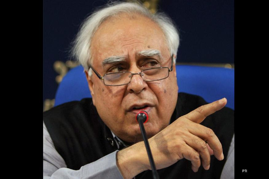 Sibal blames CAG, media, courts for policy paralysis