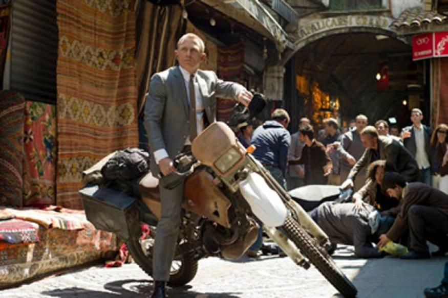 Skyfall: James Bond's motorcycle is up for grabs