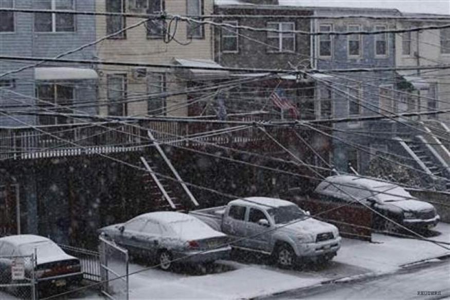 New storm bears down Sandy-battered NY, NJ