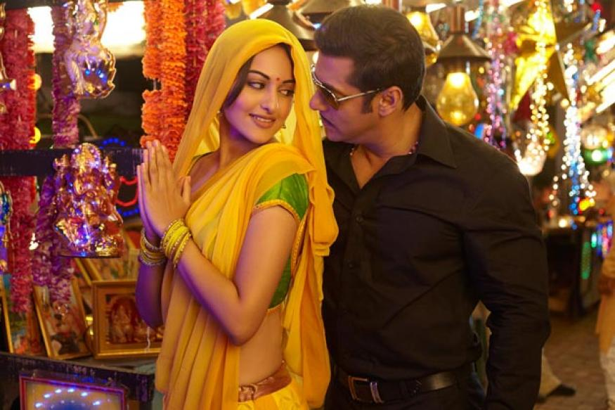 Dabangg 2: Sonakshi does Kathakali in 'Dagabaaz re'