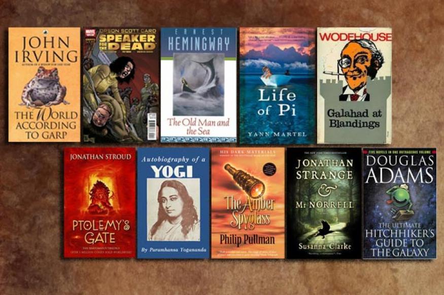 The ten best books in Sorabh Pant's list