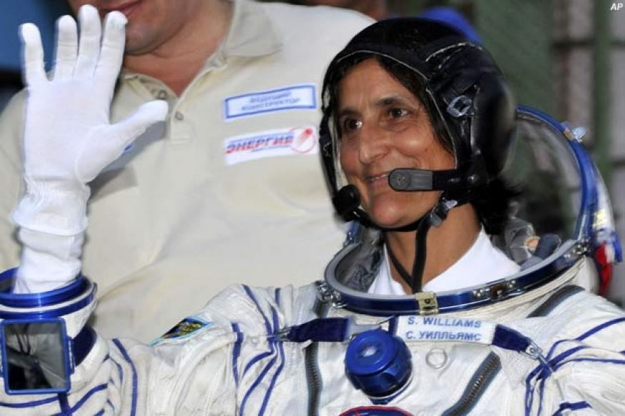 Sunita Williams greets Indians from space on Diwali
