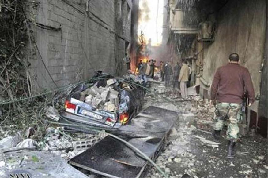 Syria: Car bombs kill 34 in pro-Assad Damascus suburb