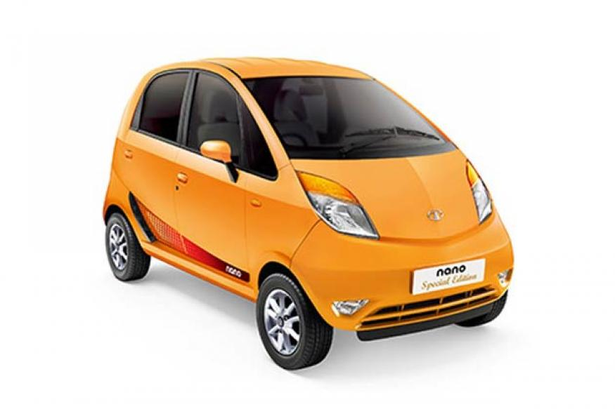 Tata Nano special edition launched in India