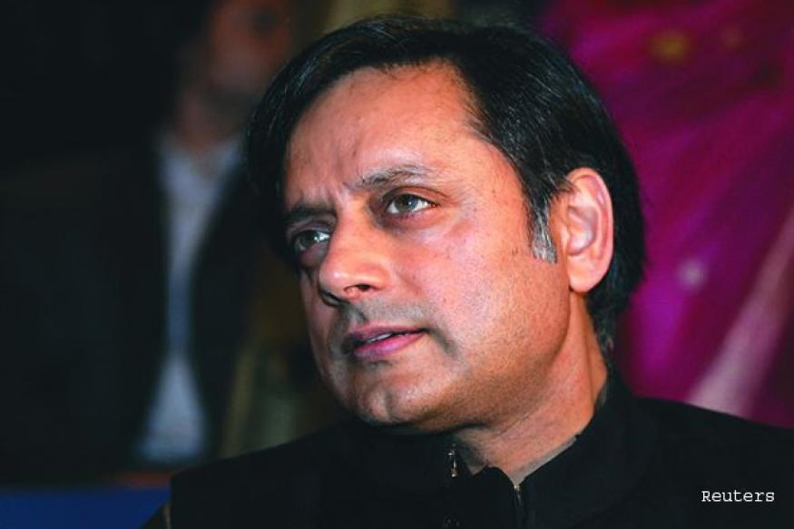 Shashi Tharoor takes charge as MoS HRD