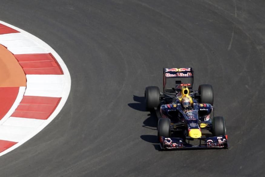 Sebastian Vettel fastest in practice sessions