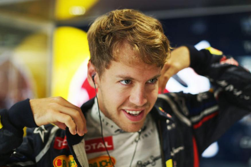 Vettel takes pole position at US Grand Prix