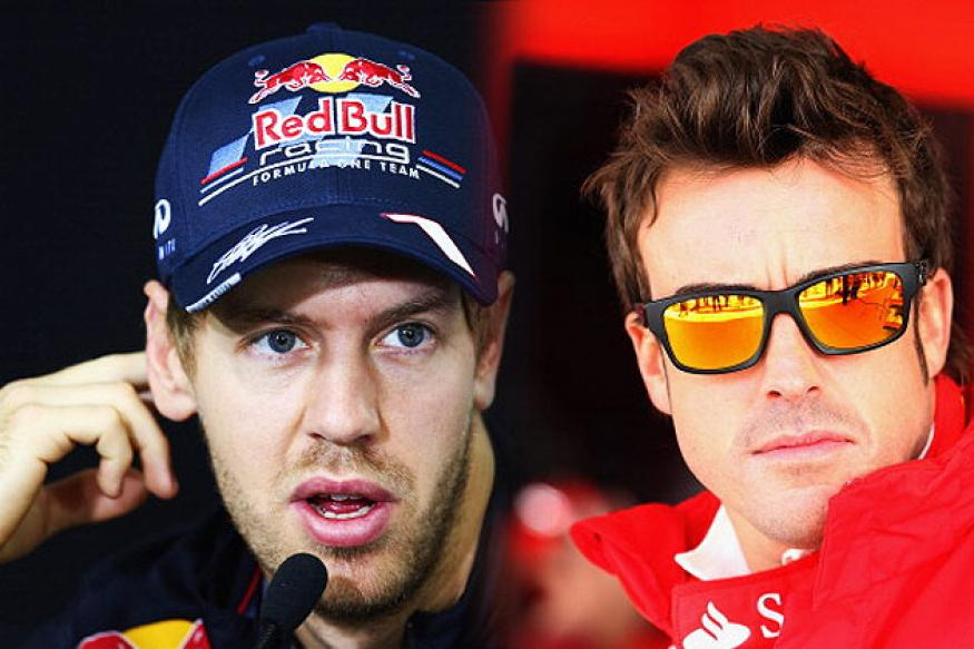 Epic contest between Vettel and Alonso at Interlagos