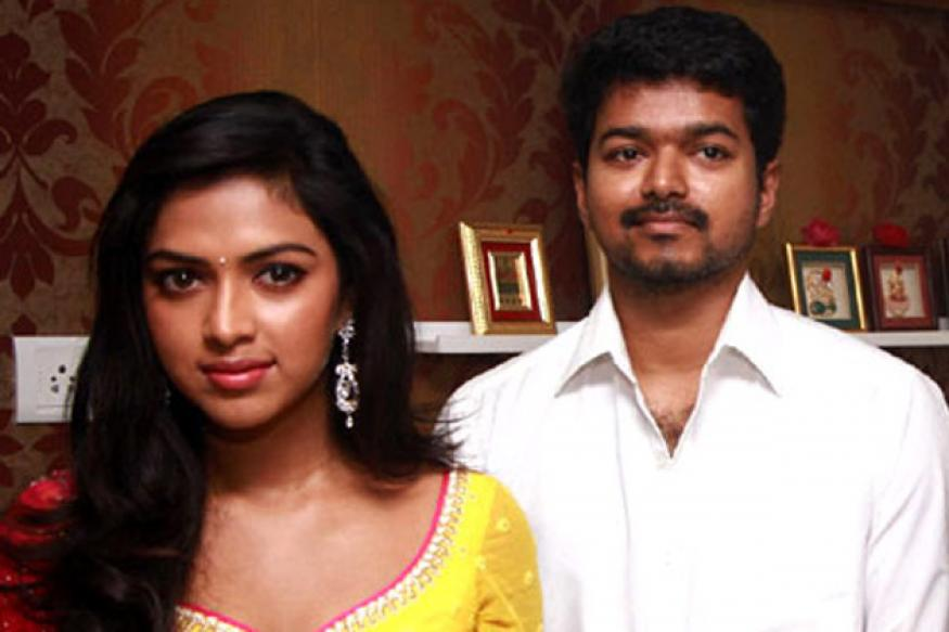 Vijay and Amala Paul do a photo-shoot together