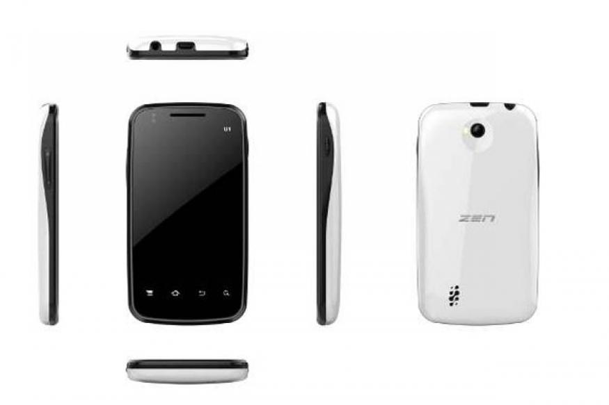 Zen launches its first Android phone at Rs 4,999