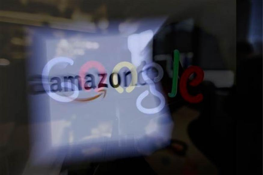Google, Amazon on collision course in 2013