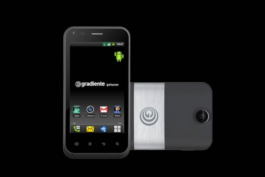 Here is a new iPhone that runs Android operating system