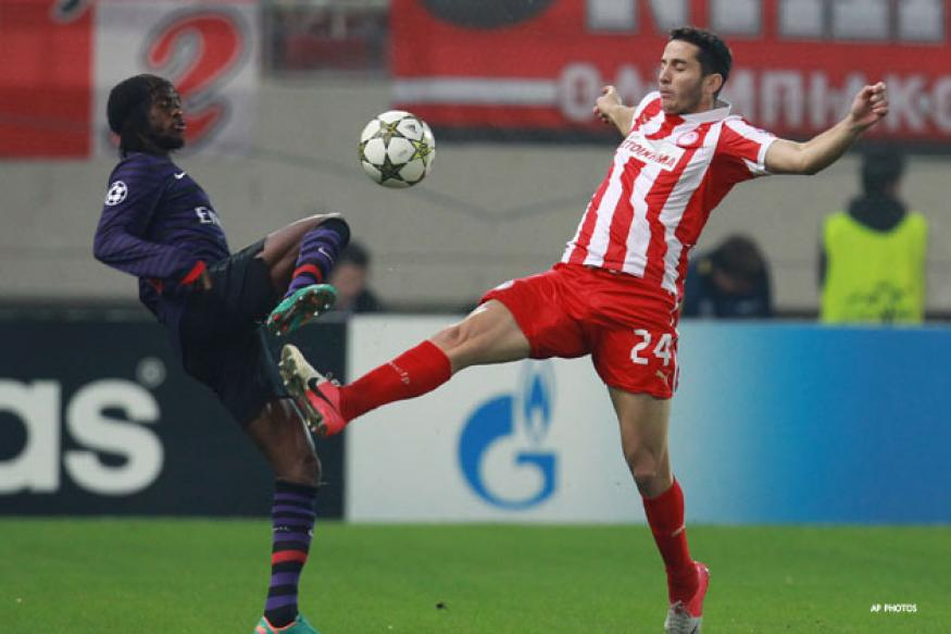 Arsenal lose to Olympiakos 2-1