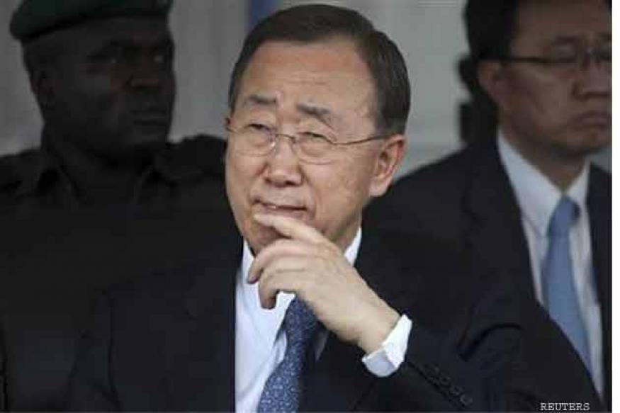 Ban concern over increased militaristaion of Syrian conflict