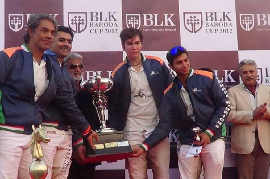 Sahara Warriors lifts BLK Baroda Cup 2012