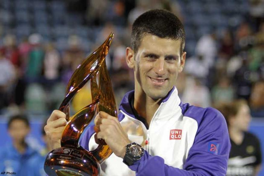Novak Djokovic retains Abu Dhabi title