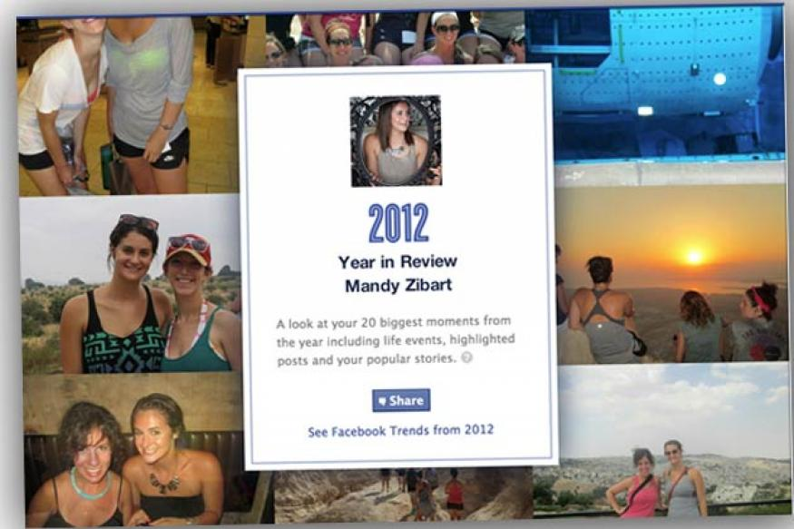 Facebook's Year in Review 2012 feature lets you see the top 20 moments on your timeline