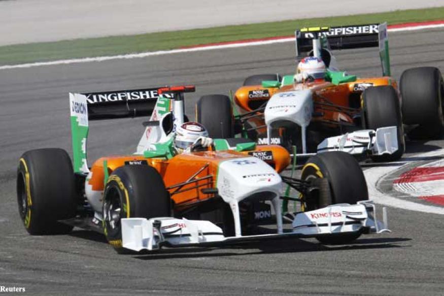 Force India hope to build on impressive 2012