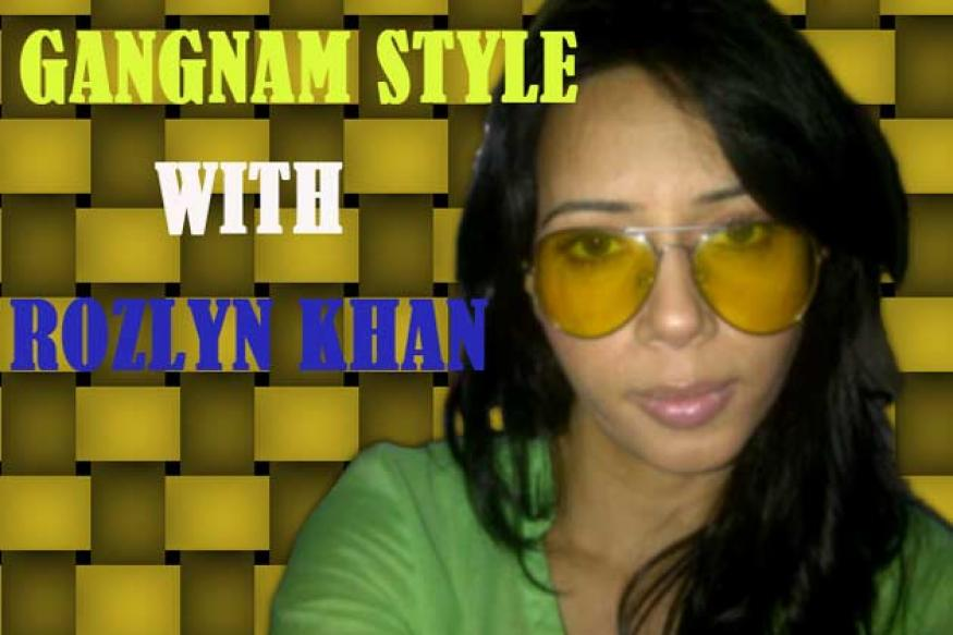 Gangnam Style: Rozlyn Khan grooves on Psy's number