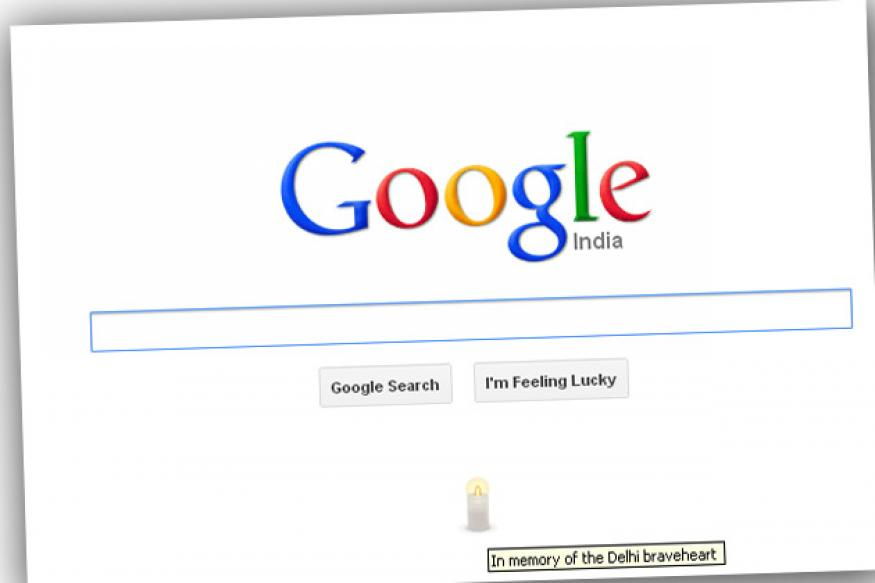 Google lights up a candle to honour the Delhi braveheart