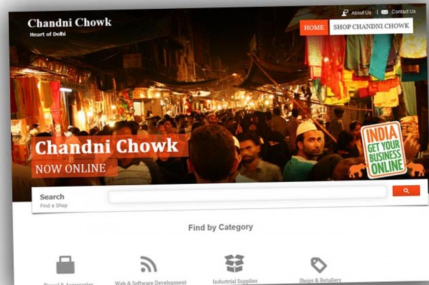 Google India helps Delhi's iconic Chandni Chowk market go online