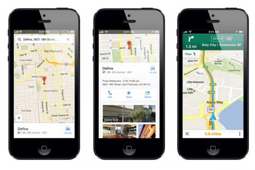 Review: New Google Maps for iPhone reigns superior