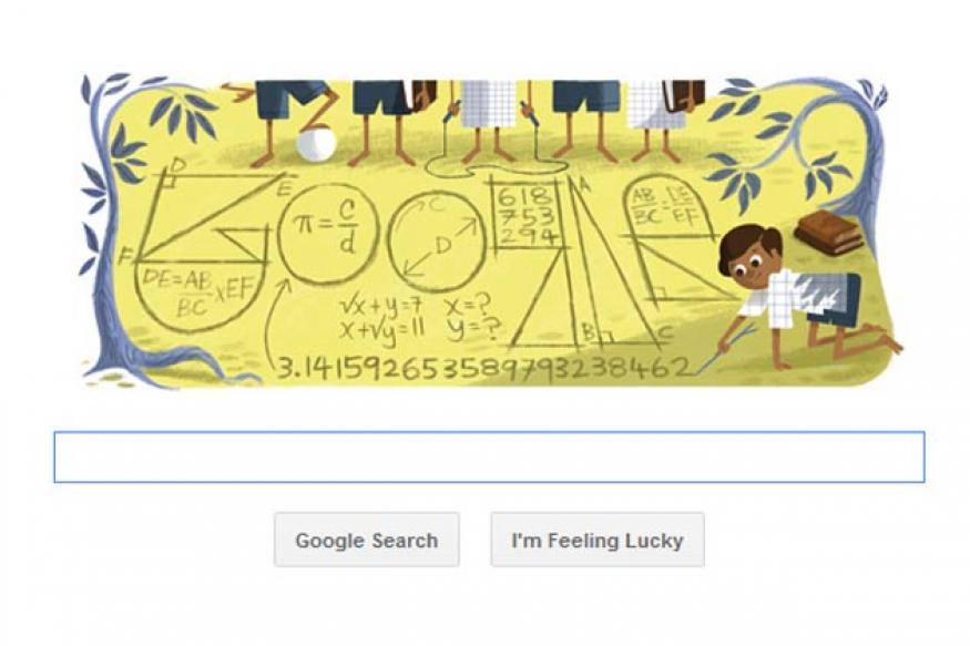 Google doodles Srinivasa Ramanujan's 125th birthday