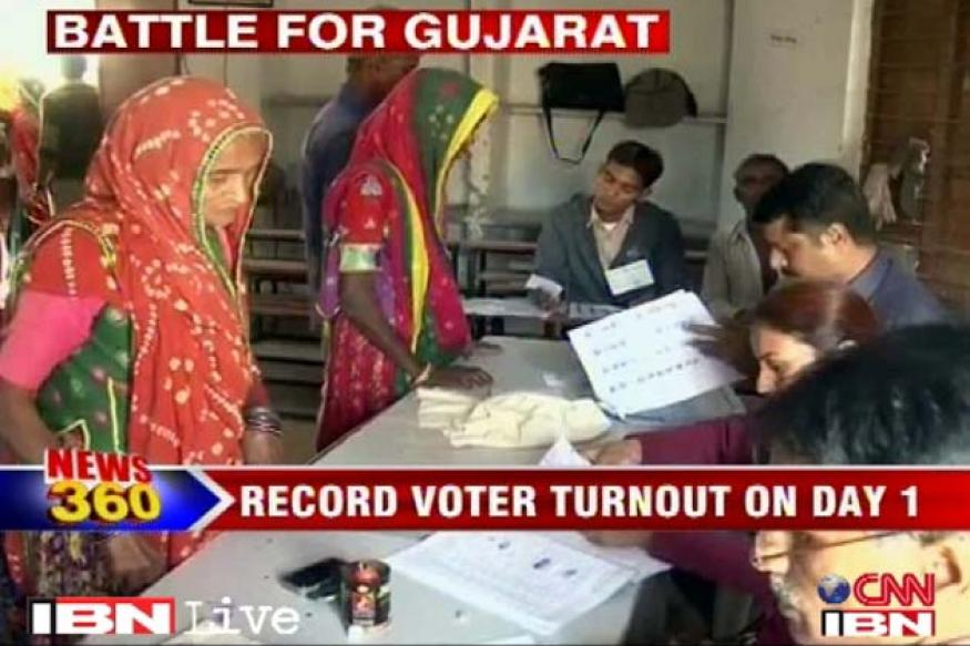 Gujarat polls: Voting for 2nd phase on Monday, Modi in fray