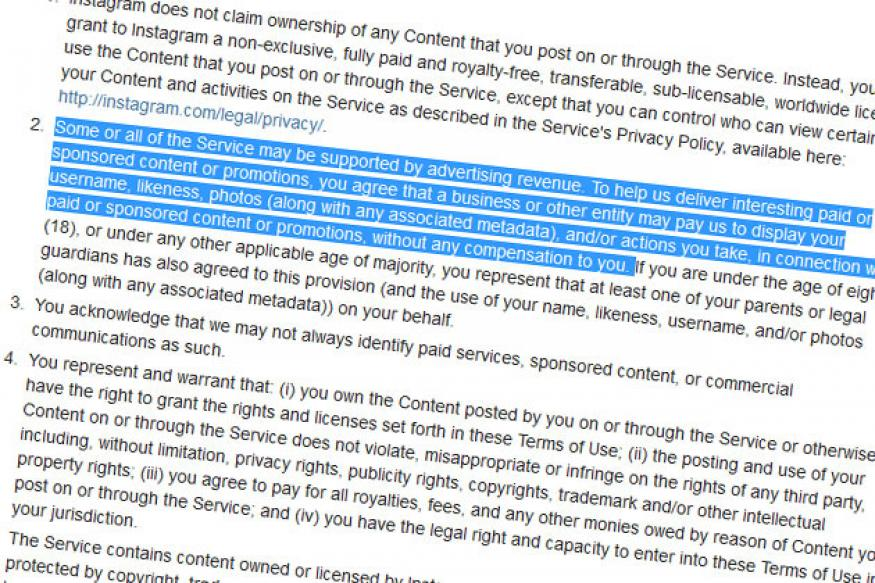After backlash, Instagram apologies, retreats on some service terms