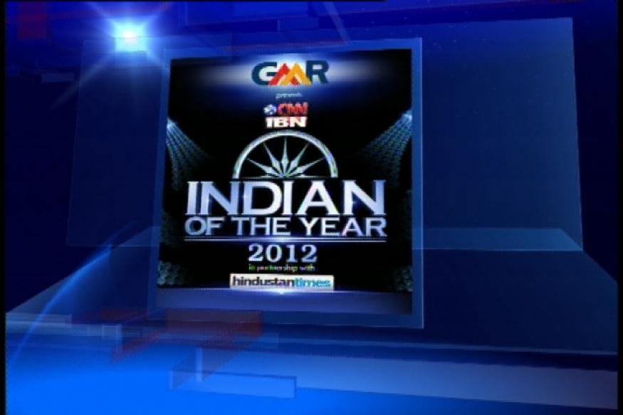 Who will be the CNN-IBN Indian of the Year 2012?