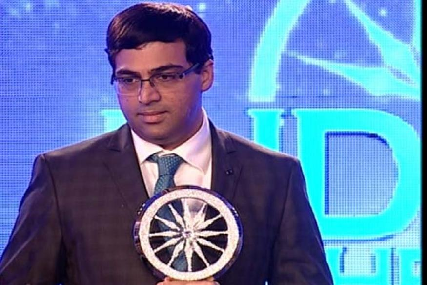 Viswanathan Anand chosen IOTY 2012 in sports category