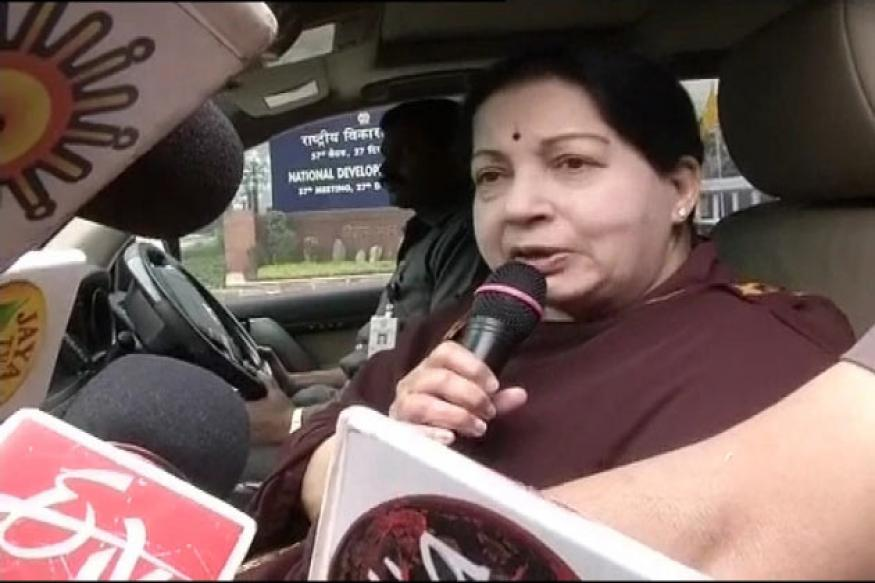 AIADMK will fight Lok Sabha polls alone: Jaya