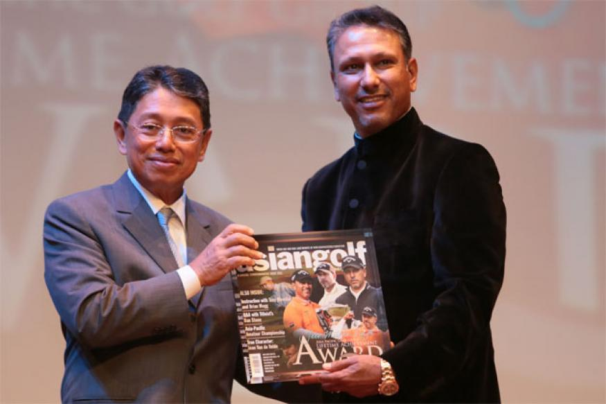 Jeev Milkha Singh honoured with lifetime award