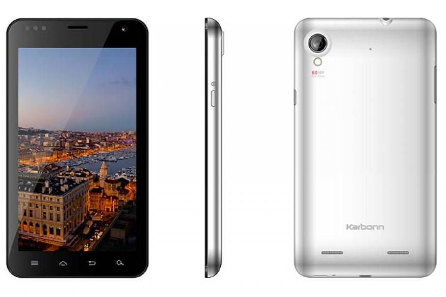 Karbonn launches 5.9-inch Android phone A30 at Rs 11,500