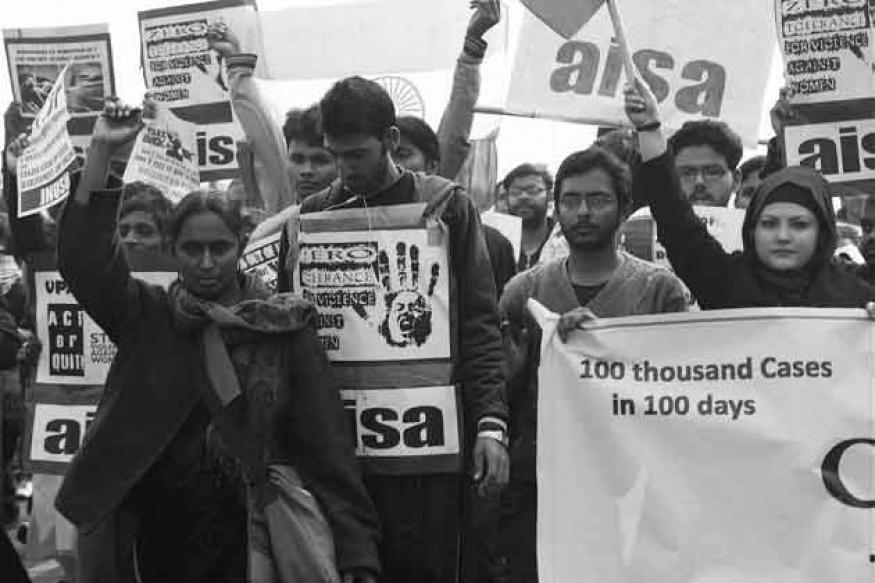 Convene Parliament to pass bills on sexual violence: protest leader Kavita Krishnan