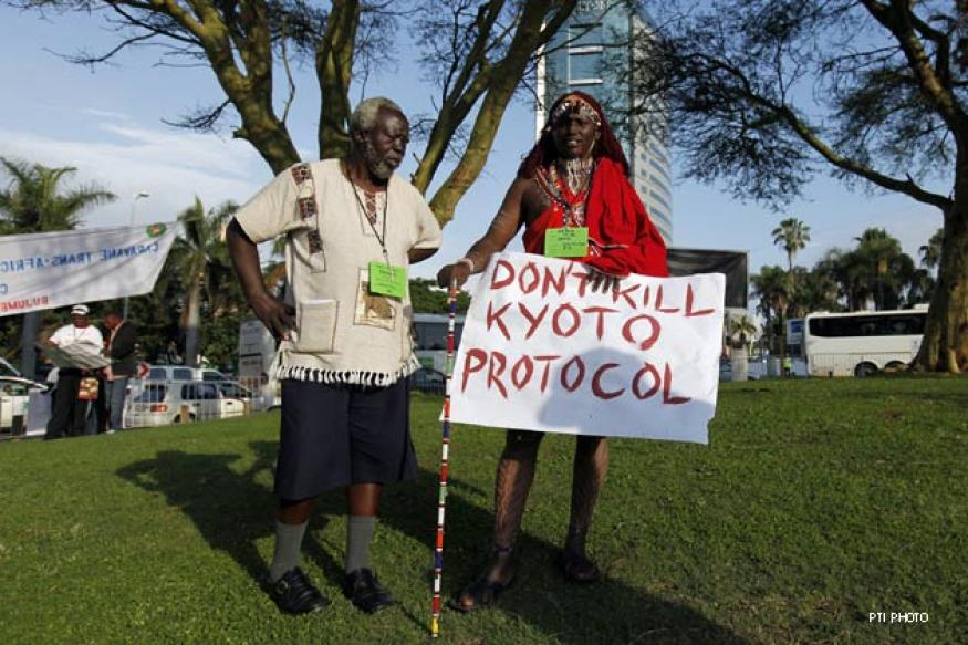 UN climate conference extends Kyoto Protocol to 2020