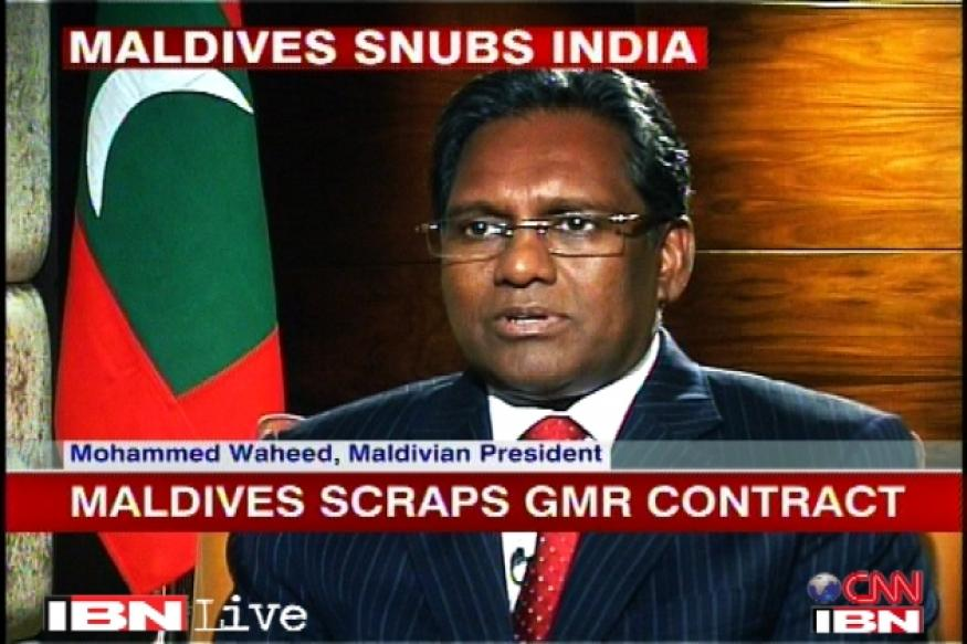 China not behind GMR contract termination: Maldives
